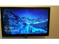 "HP 20"" widescreen led PC monitor"