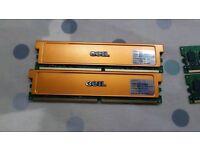 4gb (4x 1gb sticks) ddr2 memory