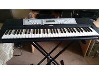 Yamaha electric keyboard + stand