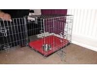 X small pets at home two door dog crate