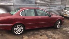jaguar x type breaking all parts available