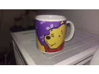 "Winnie the Pooh Mug ""Bother Free is the Way to be"""