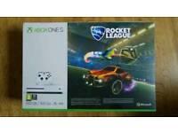 Brand New Xbox ONE S with Rocket League BUNDLE