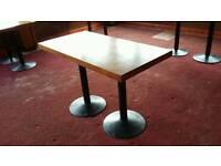 Wooden Restaurant Table Tops