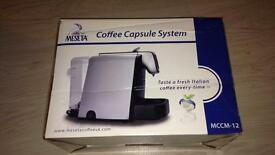 New & Boxed. Meseta Coffee Capsule Machine