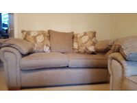 Fabric Sofa For Sale - Beige - Excellent Condition
