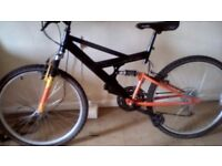 Mens Unleashed Bike Excellent Condition
