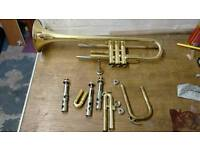 Yamaha trumpet ytr 2320e for spare or repair