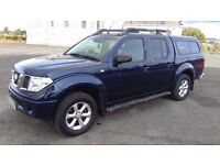 NISSAN NAVARA 2.5 DCI OUTLAW AUTOMATIC 2006