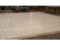 BRAND NEW LED DANCE FLOOR 20 x 20 IN FLIGHT CASES