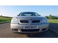 Vauxhall Vectra Saloon, 2003, SXi, 1.8 i 16v, 4 door, Petrol, Manual, 190g/km, 120 bhp