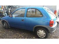 Vauxhall Corsa For Sale V reg MOT till July 2017 Spares or Repair Only £250