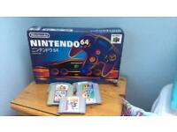 Japanese N64 Edition Bundle