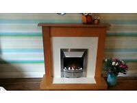 Next Electric Fire & Surround