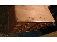 chest of drawers Very solid and sturdy [ not made from cheap stuff that falls apart from normal use]