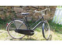 Classic Vintage Original Ladies Dutch Holland Town Bike Cycle Bicycle Rod Brakes