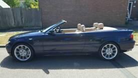 BMW 330CI Sport Auto Convertible FSH, Only 76000 Miles, 9 Months Mot, Sat Nav