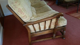 ERCOL old colonial 3-piece suite
