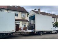 MAN WITH VAN HIRE SERVICE FULL FLAT HOME MOVERS OFFICE REMOVAL COMPANY 24/7 HOUSE REMOVAL