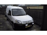 Citreon Berlingo Van 2007, used to travel back and forward to work.