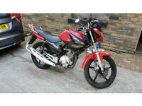 2015' 65 YAMAHA YBR 125. LEARNER LEGAL. 6,900 GENUINE MILES. HPI CLEAR. DRIVE AWAY