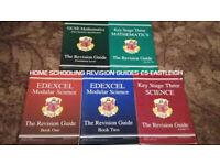 Home Schooling Revision Guides GCSE CGP Mathematics EDEXCEL Science