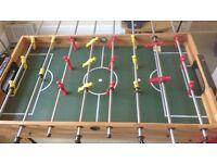 4 in 1 games table - football, table tennis, pool & skittles board