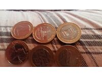 Collection of rare 2pound coins