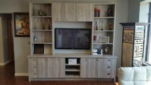 BEST DEAL ON A CUSTOM ENTERTAINMENT/WALL UNIT - MFG DIRECT