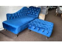 ❕❕ Beautiful Chaise lounges Available in Any Colour and Fabric with Diamonds❕❕