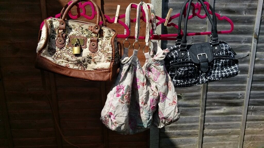 Joblot Of Bags Primark Sainsburys Accessorize