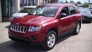 2012 Jeep Compass NORTH, AWD, POWER SUNROOF, BLUETOOTH, 4 NEW TI