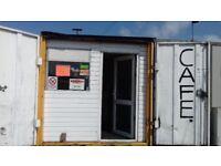 Cafe sandwich shop for sale on industrial estate. Recently awarded 5 rating on food hygiene