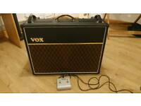 Vox AC15C2 Custom Twin - Rare Valve AC15 Twin Celestion Greenback 2014 Guitar Amp