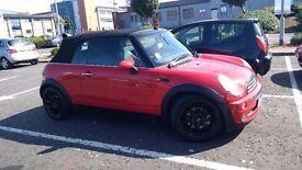 Red Mini Convertible R52 Low Mileage!