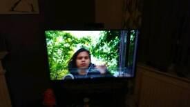 "Panasonic 55"" 4k HDR smart tv broken screen"