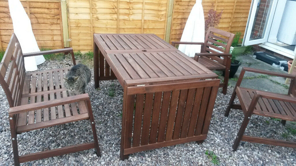 IKEA Applaro Garden Furniture (5 pieces)   in Gatley ...