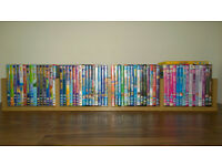 Set of 61 childrens DVDs