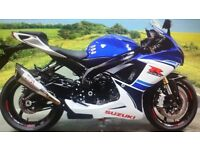 GSXR 750 30th ANNIVERSARY WITH YOSHI CAN WHITE BLUE BEST COLOURS