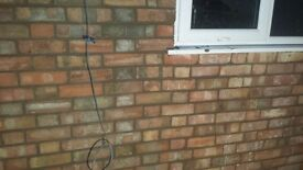 Re pointing brick work