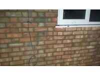 Re pointing brick work