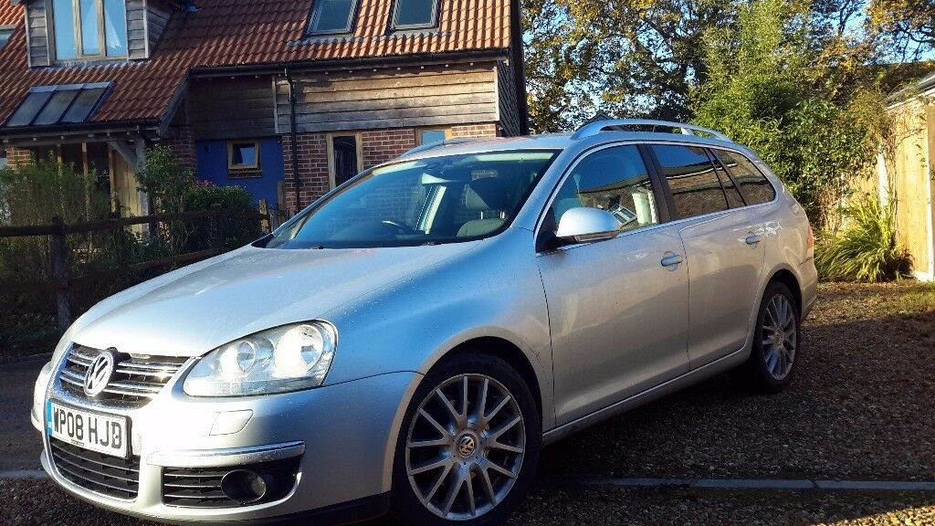 GOLF SPORTLINE 2L SEMI AUTOMATIC DIESEL ESTATE 2008
