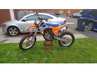 KTM 350 SXF ELECTRIC START FUEL INJECTED ABSOLUTELY IMMACULATE