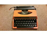 Silver reed 150 tabulated typewriter