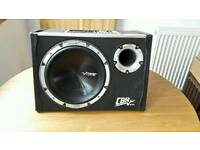 Vibe CBR Evo 10 - Black air 2 Sub & Amplifier - Subwoofer