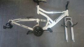 Muddy Fox Bike Frame with all accessories