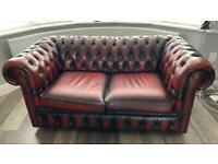 Set of two Chesterfield sofas