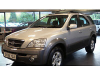2006 06 KIA SORENTO 2.5 XS CRDI 5d 139 BHP *FSH *PART EX WELCOME*FINANCE AVAILABLE*WARRANTY*