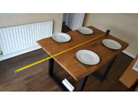 Ryegate solid wood dining table