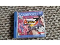 sega dreamcast StreetFfighter Alpha 3 boxed with instructions